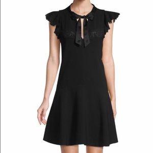 Rebecca Taylor lace detail dress
